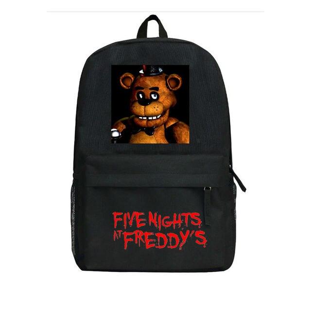 bd6a79612745b Anime Beş Nights freddy'nin Sırt Çocuklar Okul Çantası Erkek Kız FNAF at  Anaokulu Çantası