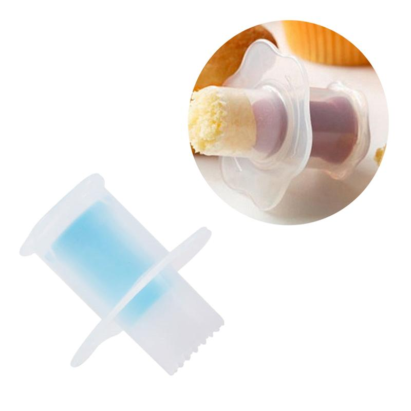 1 Pc Baking Pastry Tool Practical Pastry Hole Digger Bake Mold Cake Corer For Cupcake Muffin Home Kitchen Gadget Random Color in Other Cake Tools from Home Garden
