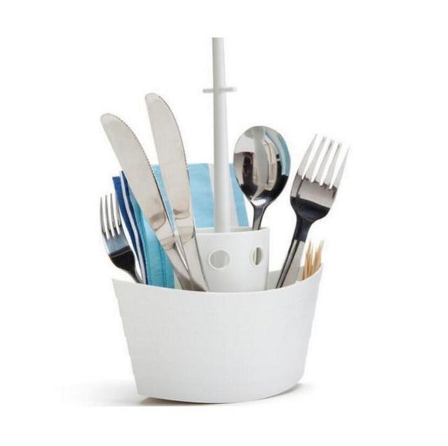 1PC Hot Tableware Sailing Storage Cutlery Napkin Holder Rack Toothbrush Kitchen  Utensils Stands New Study Stationeru0027s