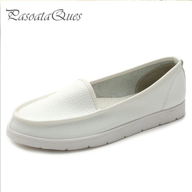 Women Casual Shoes Real Leather Leisure Breathable Stylish Loafers Comfortable Women Flats Pasoataques Brand 1329-1