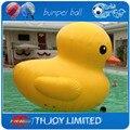 3 м высокая гигантский надувной продвижение утка, надувные утки, надувные желтая утка, надувной бассейн утка