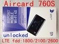 Desbloqueado netger Sierra Aircard 760 S LTE 4g wifi Router Inalámbrico 3g 4G dongle 4G wifi módem lte mifi pk 754 s 781 s 762 s 763 s 782 s