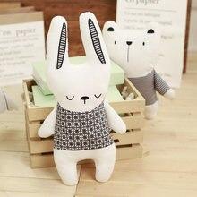 Купить с кэшбэком Seat Cushion Chair Home Stuffed Animal Nordic Toys Kawaii Stitch Plush Pillow Stuffing Bear Rabbit Unicorn Pillow Cute Horse Toy