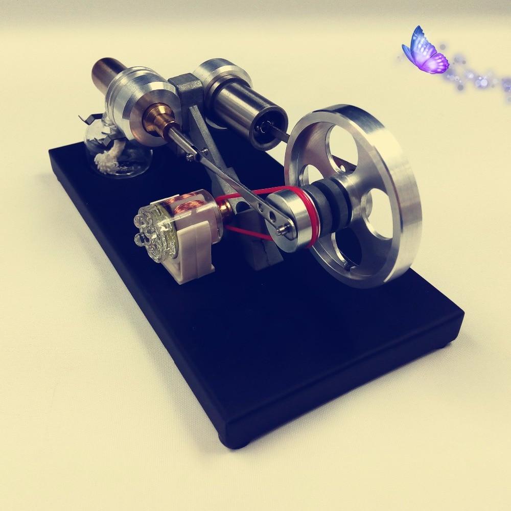 Stirling motor generator modell mäns födelsedagspresent fysisk - Skola och pedagogiska förnödenheter - Foto 2