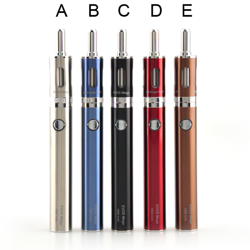 Kanger Evod Mega Kit with 1900mAh EVOD Battery 2.5ml Evod Mega Atomizer E Cigarette Kits