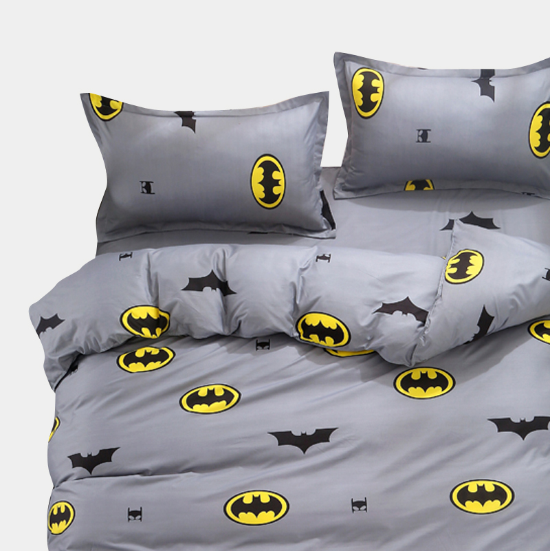 Cartoon Kids Bedding Sets Russia Single Twin Queen Size For boy Child baby Duvet Cover Set Sheet Set <font><b>140*200</b></font> bed linen image