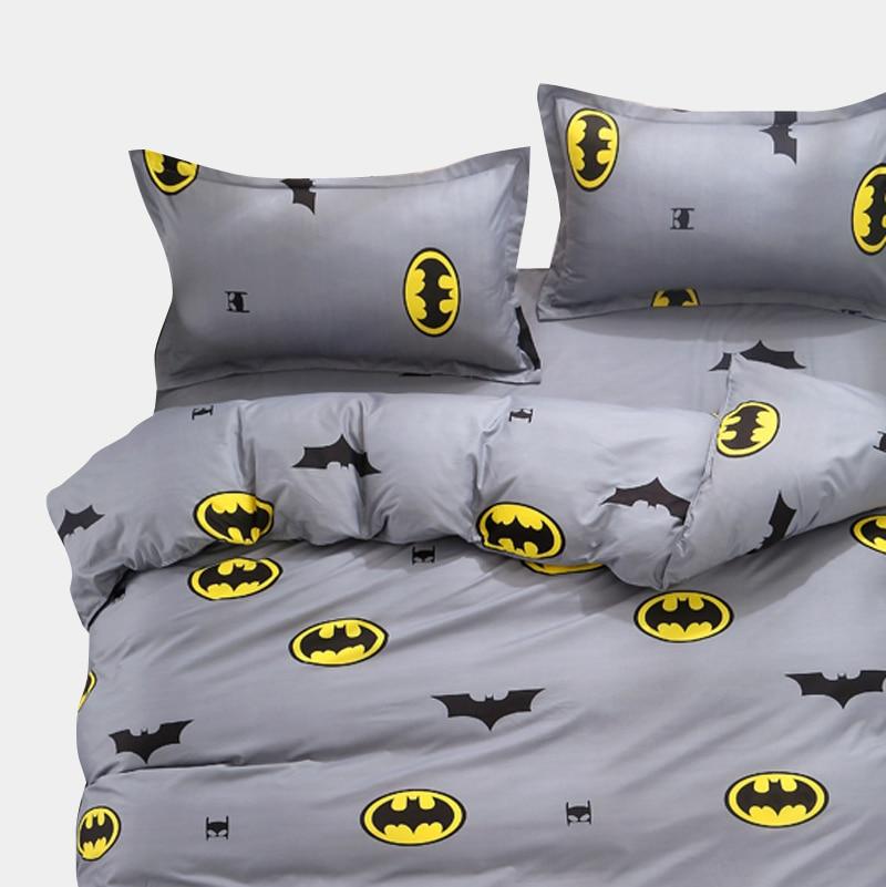 Cartoon Kids Bedding Sets Russia Single Twin Queen Size For Boy Child Baby Duvet Cover Set Sheet Set 140*200 Bed Linen