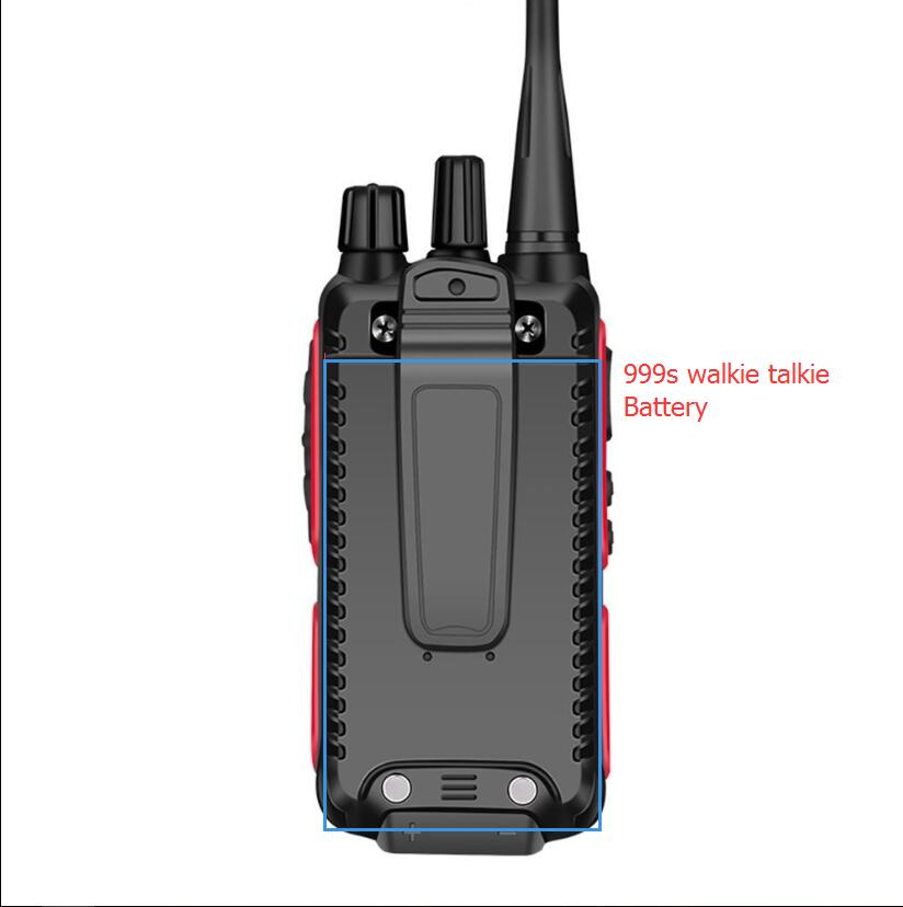 999S walkie talkie battery two way radio battery 999s