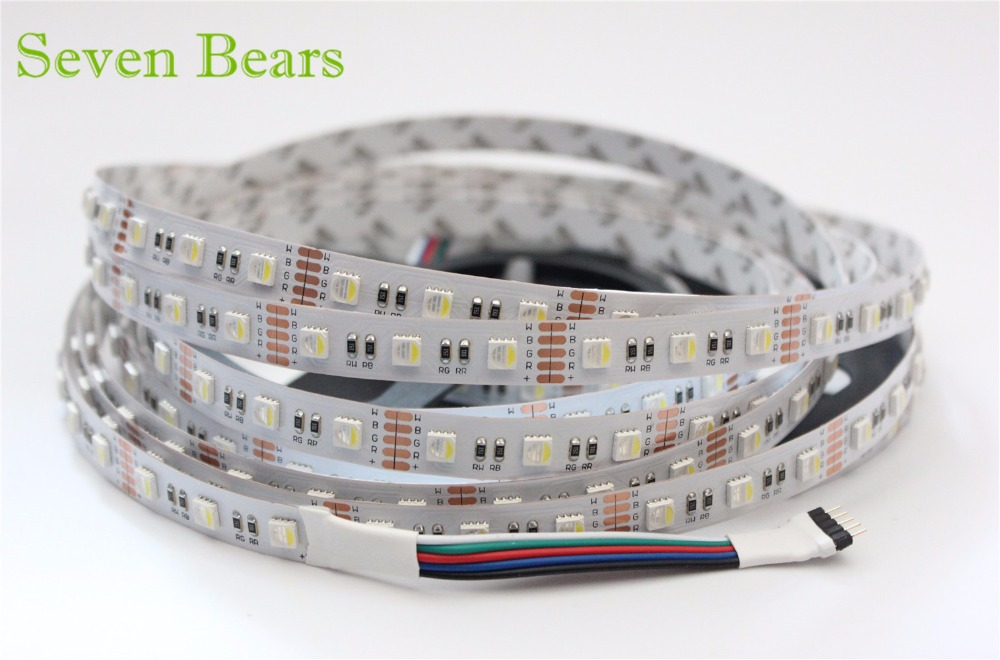 5m RGBW RGBWW 5050 Led Strip Light DC 12V 24V 4 en 1 Led Chip - Iluminación LED - foto 2
