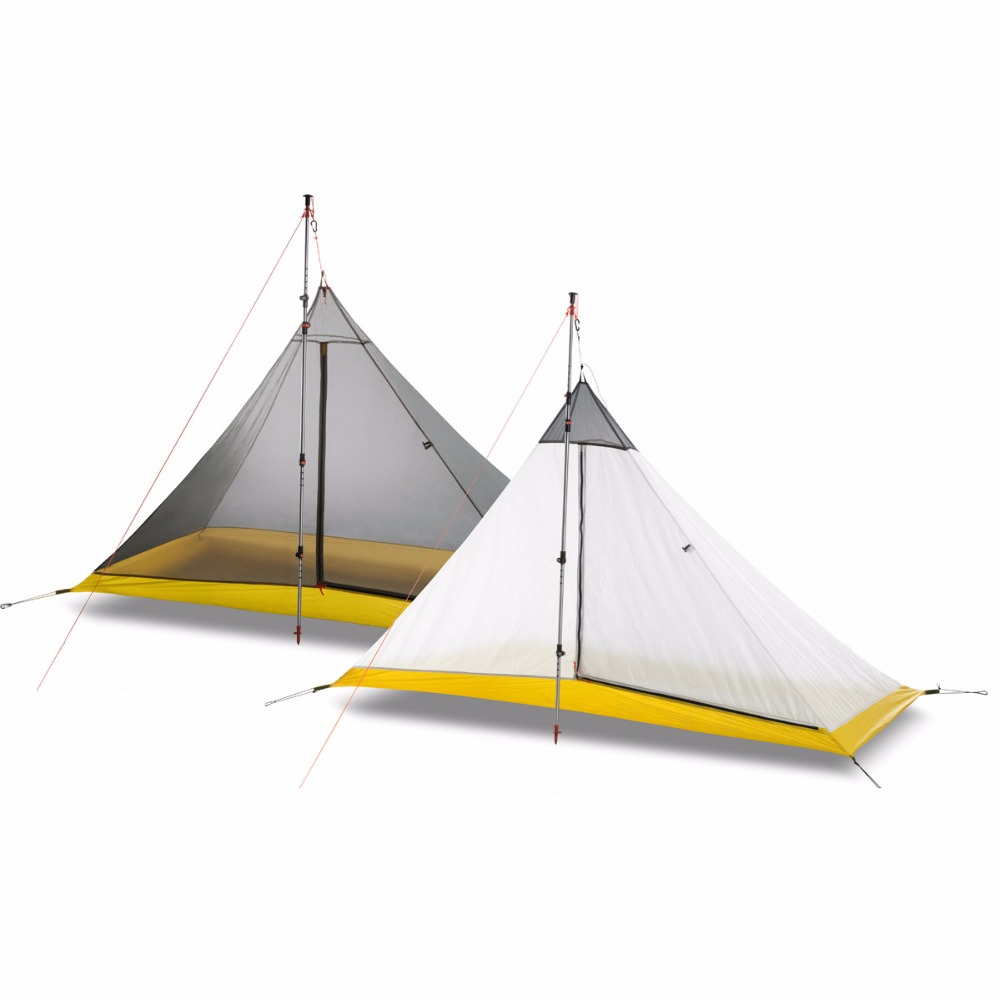 FLAME S CREED Ultralight 1 2 Person silicon coating inner tent summer outdoor 3 seasons camping