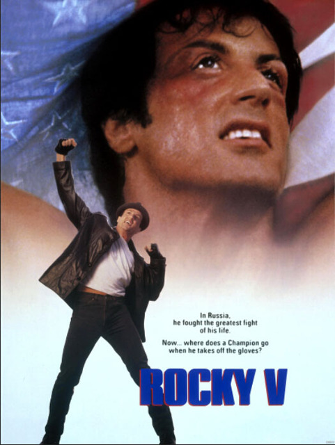 Image result for rocky V poster