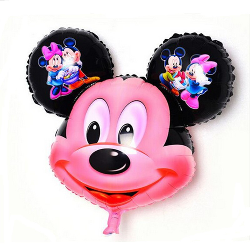 BINGTINA 10pcs / lots Hot selling! Friendship Mickey and Minnie aluminum balloon