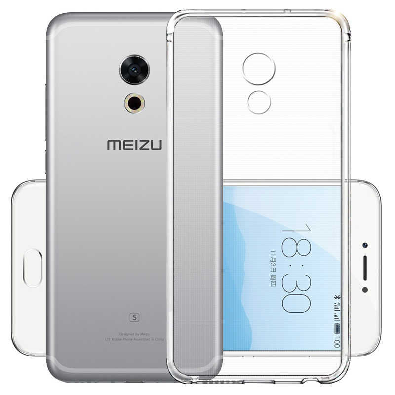 Transparent Case For Meizu M6 M5 Note M6S M5S M3 M3S Mini M5C Note 9 Clear Soft TPU Silicone Cover For Meizu M3 Note E2 M2E