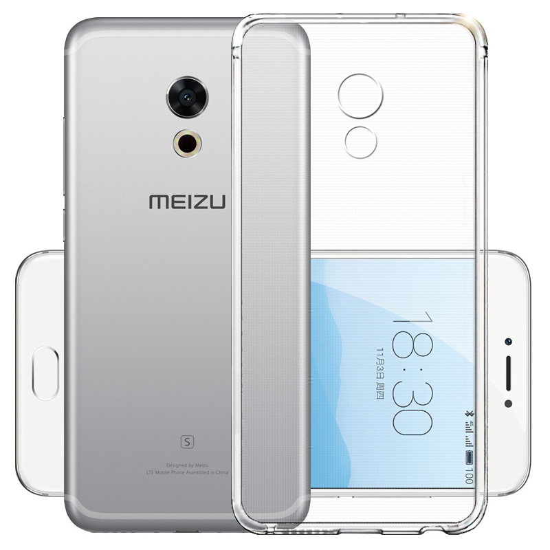 Transparent <font><b>Case</b></font> For <font><b>Meizu</b></font> M6 M5 Note <font><b>M6S</b></font> M5S M3 M3S Mini M5C Note 9 Clear Soft TPU Silicone Cover For <font><b>Meizu</b></font> M3 Note image