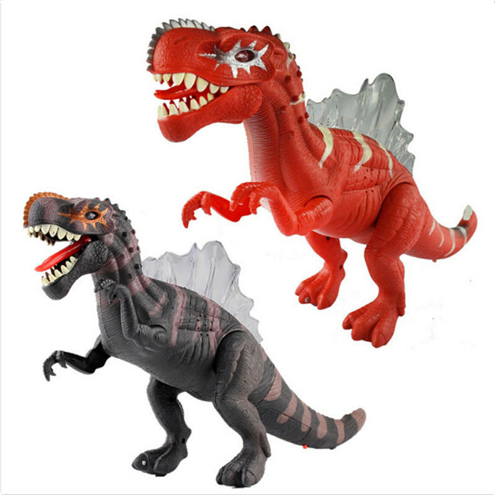 Dinosaurs Mdf Toy Box Childrens Storage Toys Games Books: Popular Electronic Dinosaur Toys-Buy Cheap Electronic