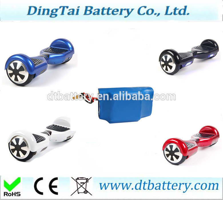 цена на High end Self balance scooter smart balance battery pack S amsung cells high end battery pack 36V 4.4Ah lithium ion ICR18650-22P