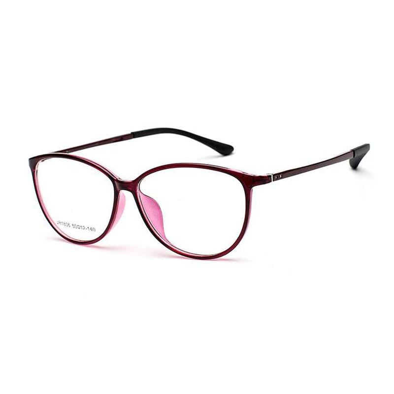 High Quality UltralightTungsten Glasses Frame Men Ultem Retro Round Eyeglasses Women Goggles Prescription B2