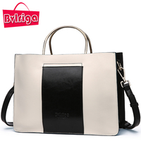 BVLRIGA Luxury Handbags Women Bags Designer Famous Brand Patchwork Genuine Leatther Bag Female Shoulder Bag Messenger