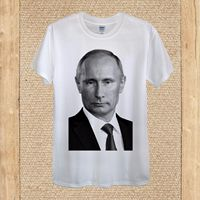 Vladimir Putin President Russia Moscow Leader Donald Trump unisex women fitted Summer Men'S fashion Tee,Comfortable t shirt