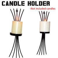 Home Candlestick Holders Hanging Wall Sconce Candle Holder Shelf Furnishing Articles Decoration Valentine Gift Home Decor