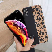 Oppselve Leopard Print Phone Case Cover For Iphone XS Max XR X 8 7 6 6S Plus Luxury Soft Back Cases Colorful Fashion Capa Shell