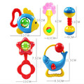 5 Pcs Baby Rattle Newborn Baby Toys Potential Development of Children's Toys