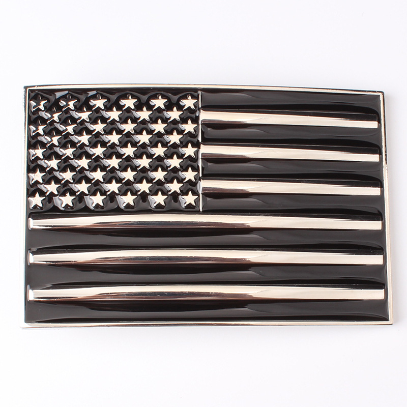 The American Flag Belt Buckles The European And American Style High Grade Belt Accessories