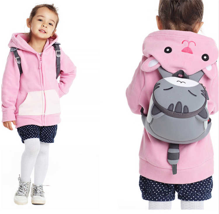 5589979b Nohoo Cute Lion Animal School Bag for Boys Kids Waterproof Backpack  Kindergarten Girls 3D Cartoon Shape Mochila for 2-7 Years gg