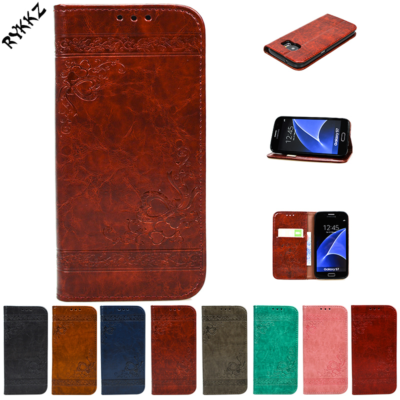 For Samsung Galaxy S7 Hero SM-G930 G930F G930FD Flip Case Phone Leather Cover for Samsung S 7 SM G930U Silicone phone bagS