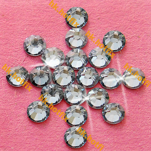 GENUINE Swarovski Elements ss16 Silver Shade ( SSHA ) 720 pcs 16ss Iron on   Flatback Round Crystal Hotfix rhinestones