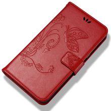 Cover For Huawei P Smart Mate 10 Pro P20 P9 Lite Mini Nova 2 Plus 2i 2s Enjoy 7 7s 6s  Case Butterfly Magnet Leather Capa P02F