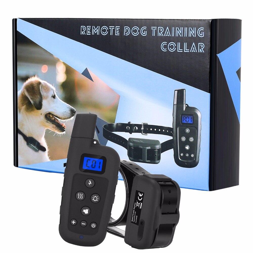 Collier de dressage à distance pour chien E-COLLAR