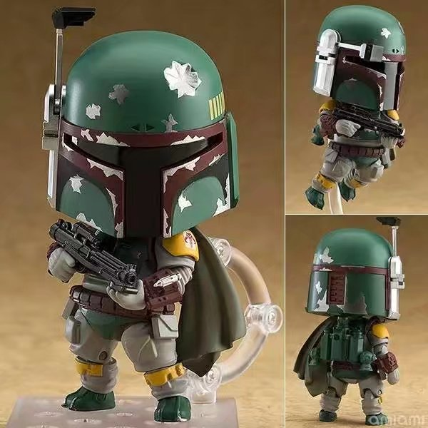 Star Wars Boba Fett 706# Nendoroid Movie Cartoon Anime Action Figure PVC toys Collection figures for friends gifts