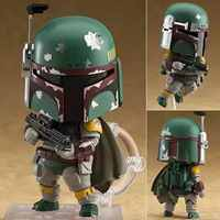 Star Wars Boba Fett 706 # Nendoroid Cartoon Movie Anime Action Figure giocattoli IN PVC figure Raccolta per gli amici i regali