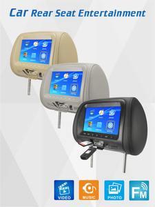 Monitor Multimedia-Player Entertainment Car-Headrest Automobile Rear-Seat AV SD General