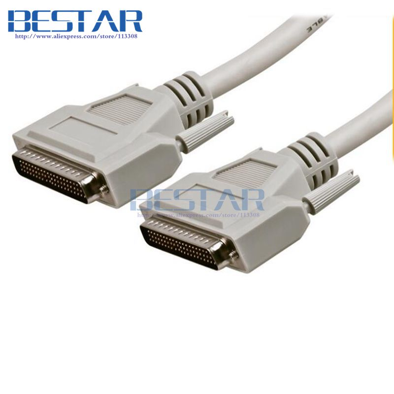 DB62 62Pin to DB 62 Pin Male to Male cable 3m 10ft For SCSI ASPI Small Computer System Interface 3meters cables cab ss v35mt v 35 cable 3m 10ft network router cables for cisco wan interface card wic 2600 series wic 2t 2a s