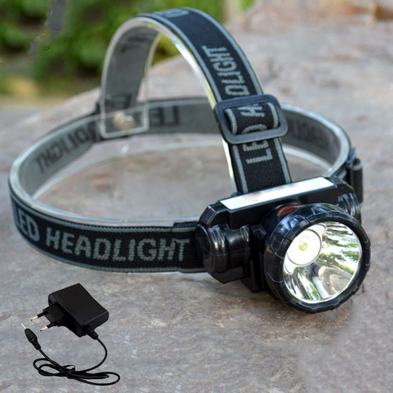 Ultra bright Led Headlamp Headlight rechargeable Head flashlight powerful frontal torch light with battery AC charger fishingUltra bright Led Headlamp Headlight rechargeable Head flashlight powerful frontal torch light with battery AC charger fishing