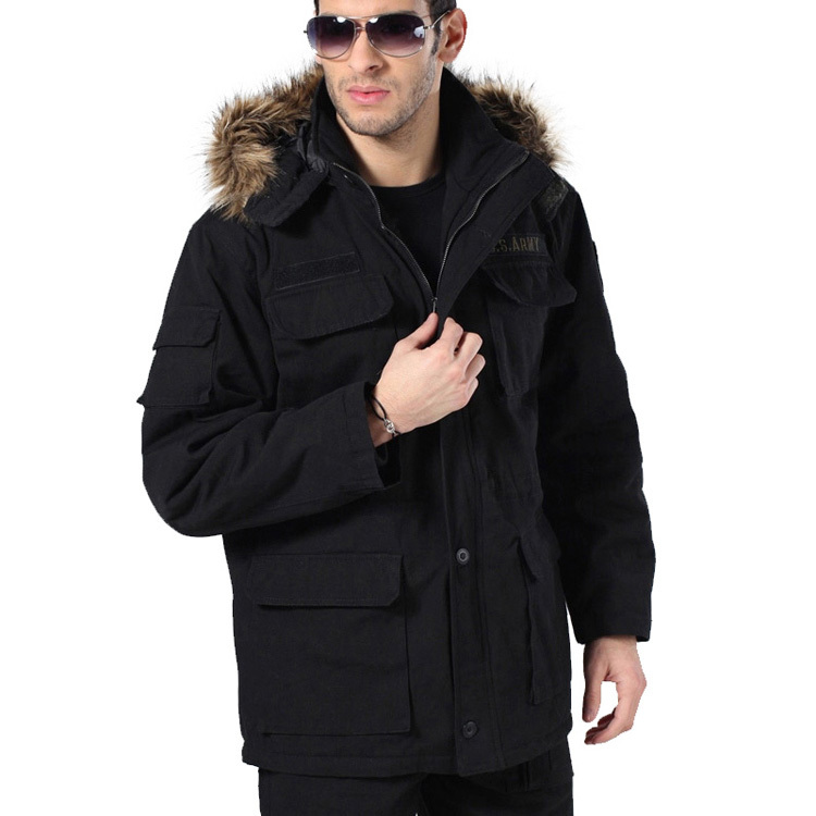 Men Winter Anti-Wear Outdoors Windbreaker Jacket Overcoat Military Army Combat Tactical 101st Airborne Division Cargo Outwear airborne pollen allergy