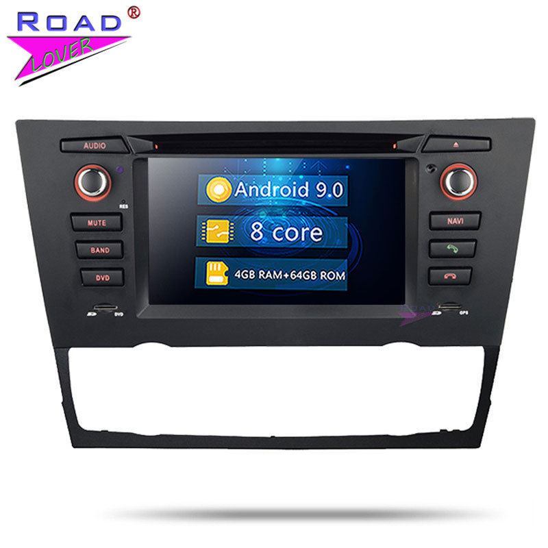 Roadlover Android 9.0 Car Multimedia DVD Player For BMW E90 E91 E92 E93 Auto 2005- Stereo GPS Navigation Autoradio Magnitol 2Din image