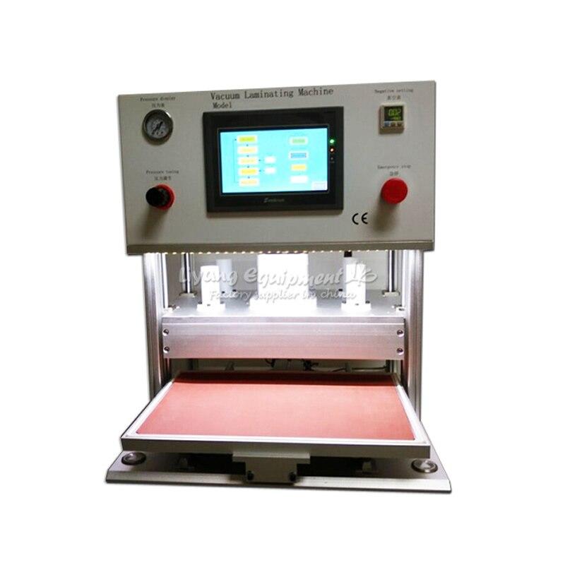 LY 908 OCA Laminator 17 Inch LCD Vacuum Laminating Machine No Need Molds