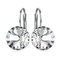 73d6f765741 NEW SALE 925 silver 6Color Original Crystals From Swarovski Bella Mini  Piercing Fashion jewelry Stud Earrings