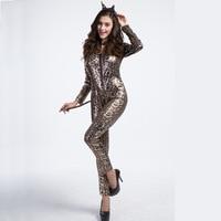 2017 Sort Leopard Print Contain Even Pants Halloween Cosplay Serve Costumes