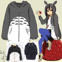 Men Women Anime My Neighbor Totoro Hoodie Plush Coat Cosplay Costume Sweatshirts Jacket