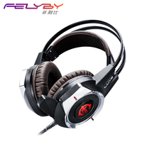 Gorgeous Luys GS912 Computer Gaming Headset Stereo Deep Bass Cool Glow Gaming Headset