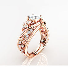 Woman's ring jewelry Pure 925 silver King of the ring stainless steel heart Butterfly garland micro inlaid zircon rose goldB2149 bocai silver 925 silver butterfly ring gently move as the moment flew into your eyes