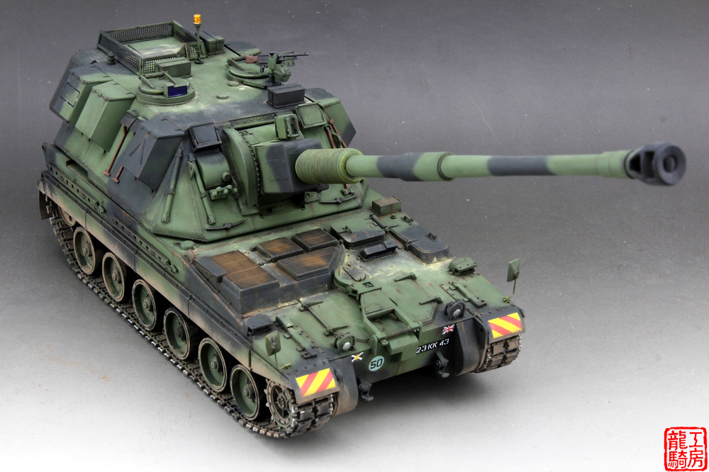 Self Propelled Cart >> Built 1/35 British 155mm AS 90 Self propelled howitzer-in Men's Costumes from Novelty & Special ...