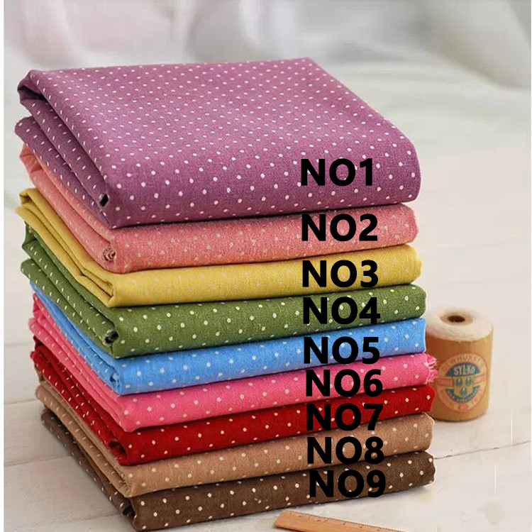 FABRIC DIY Patchwork cloth Printing Pattern table Natural Cotton Linen Fabric Quilting Patchwork Sewing Textile magzine