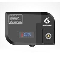 100% Original GeekVape Tab Pro Ohm Meter E cig Atomizer Ohm Meter Reade&Voltage Drop Checker& Firing Test Station DIY Tool E cig