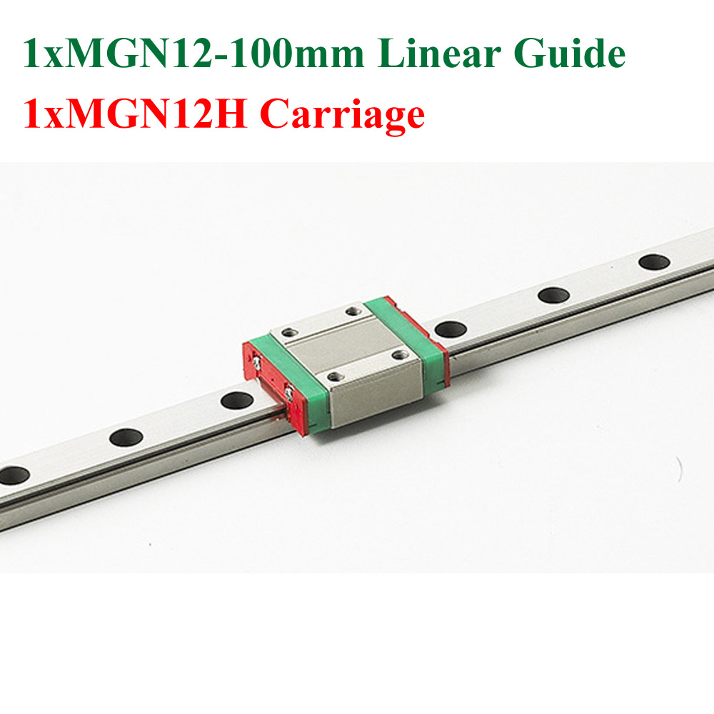 MR12 MGN12 12mm Mini Linear Guide 100mm With MGN12H Linear Block Carriage CNC X Y Z Axis Kossel ck cattle king high quality motorcycle air filter for ktm 125 200 390 duke rc 125 200 390 rc125 rc200 rc390