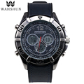 Vintage Watch Dual Time LED Quartz Watches Watched Designer  Fahion Men Wristwatch Brand Sport Watch relogio masculino WS1006